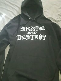 Thrasher Skate and Destroy black hoodie Sz L Mississauga, L5B 0H2