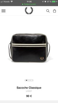 Sac homme Fred Perry  Montréal, H1T 3H7