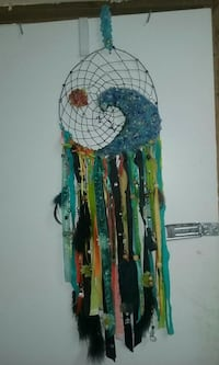 blue, black, green, and yellow dream catcher Rock Spring