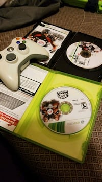 Xbox 360 controller and games  Chattanooga Valley
