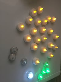 LED lights 3$ its used once, but I don't know how long it still light up, pick up only Brampton, L6R 1V4