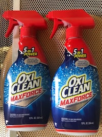2 Oxi-Clean laundry Stain Removers  Silver Spring, 20905
