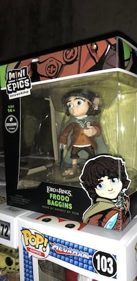Lord of the Rings Frodo Baggins LootCrate Exclusive Figure  Bay Shore, 11706