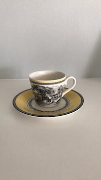 Villeroy & Boch Country Cup & Saucer Wellington, 33414