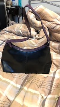 Deep purple hand bag. Beautiful