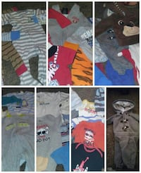 3-6 mos. Baby boy clothing lot. Oroville, 95966