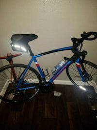 blue and black road bike Arlington, 76006
