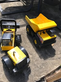 Tonka truck and tractor