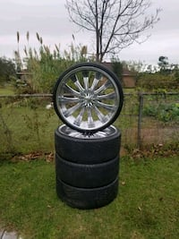 26'inch rims and tires Tifton, 31794