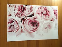 White and pink floral print textile Vancouver, V6H 1N3