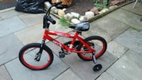 Black and Red bike kids bike for parts 39 km