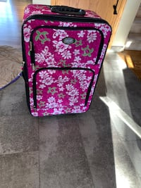 Suit case that we bought in Maui Calgary