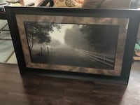Rustic Country Road Framed Picture Dumfries, 22026