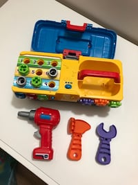 Kids Vtech Drill & Learn Toolbox