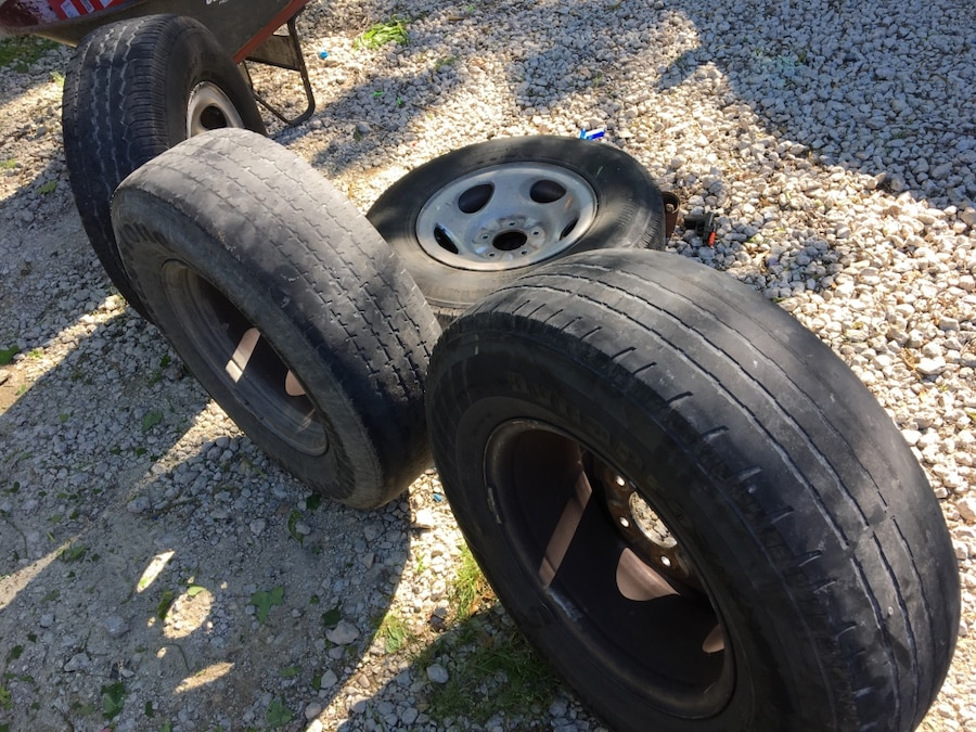 Used Ford Wheels : Used ford truck wheels rims in dallas