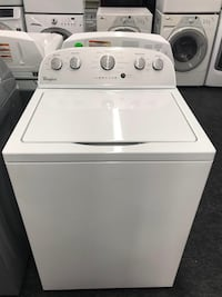 white top-load clothes washer Toronto, M6H 3L8