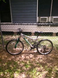 black and white hardtail mountain bike Edinburg, 78542