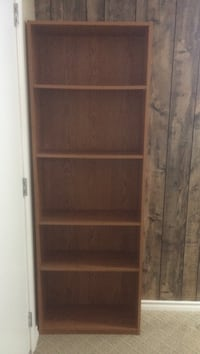1 Brown wooden Shelving unit Vancouver, V5W 1P9