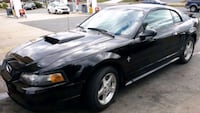 black Ford Mustang GT coupe Alexandria, 22310