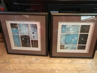 two brown wooden framed paintings Gainesville, 32609