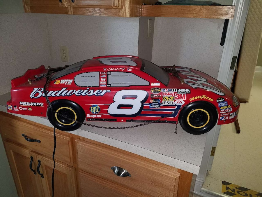 Dale Earnhardt Jr Pool Table Light