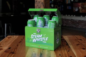Steam Whistle Brewing Collectable Lunch Box For Sale