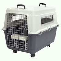 Kennels Direct Premium Plastic Dog Kennel and Trav Houston, 77099