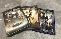 three The Lord of the Rings DVD cases Shohola, 18458