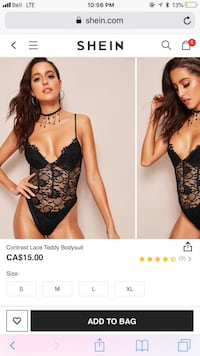 Lace body suit Mississauga
