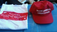 MAGA HAT and [2] 2X Shirts Pensacola