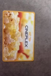 Movie gift card $25