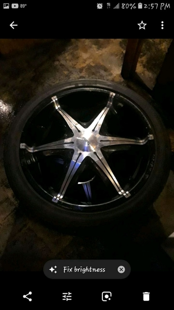 2o inch rims with great rires