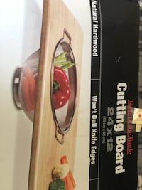 Chopping board brand new in the box