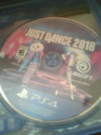 Just dance 2018 ps4 game disc Baltimore, 21229