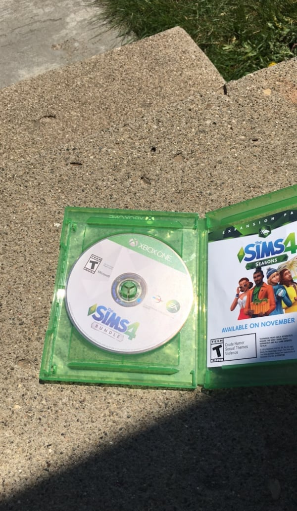 The Sims 4 Xbox One edition 61548abf-3ea4-4ce1-b2ce-988cadf7ee65