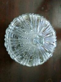 Bohemian Lead Crystal Candy Dish