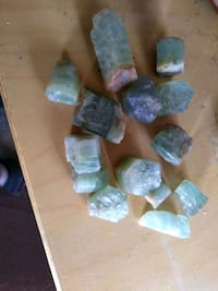 Assorted aquamarine healing crystal lot  Tysons, 22102