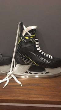 pair of black-and-white Bauer ice skates Vaughan, L6A 4P6