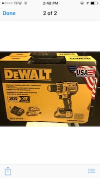 DeWalt compact brushless drill  Charlotte, 28208
