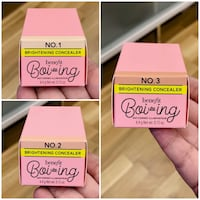Boi-ing Brightening Concealers in 1, 2, 3 - Brand New in Boxes Toronto, M4B 2T2