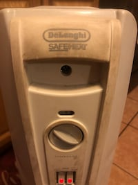 Delonghi comfort temp portable oil filled radiator works great!