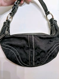 Coach ~ black hobo bag Mississauga, L5A