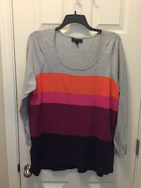 Women's 18/20 - Sweater Grey/Orange/PinkBurgandy/Blue