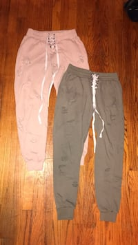Both for $20  joggers with slits  Des Moines, 50315