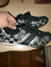 pair of black-and-gray Coach sneakers Ottawa, K1V
