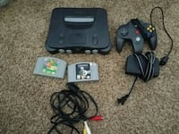 N64 with everything plus Games Aurora, 80010