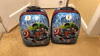 2 Backpack / suitcase with handle and wheels Hawthorne, 07506