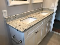 Bathroom Vanity top Colonial White vanity cabinet is not included the price only (free estimate) Centreville, 20120