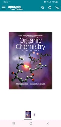 College organic chemistry textbook Washington, 20011