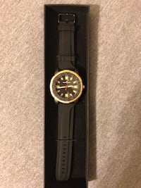 Black and gold watch Fairfax, 22031